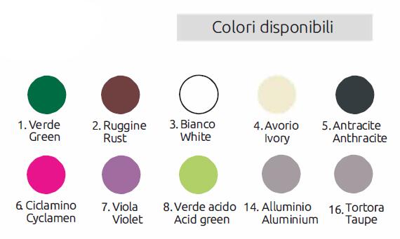 10 colori